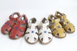 Sandalen met klittenbandsluiting