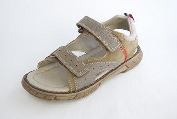 Open sandalen met klittenbandsluiting