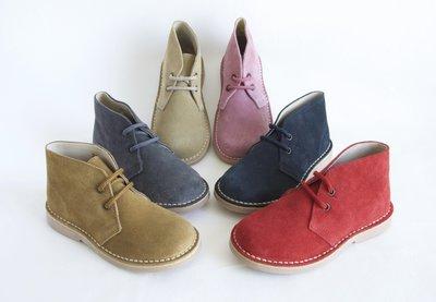 Kinderschoenen Desert Boots Desert suède laarzen met veters