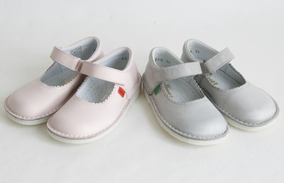 Ballerina's schoenen met klittenbandsluiting