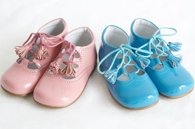 Speciale gelegenheden Lakleer-Inglesito-laarzen-
